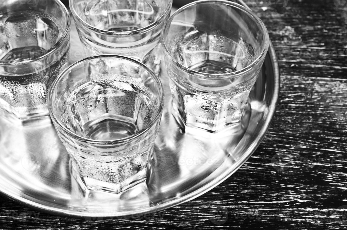 bebida transparente foto