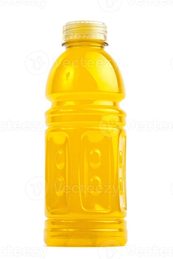 garrafa de bebida esportiva foto