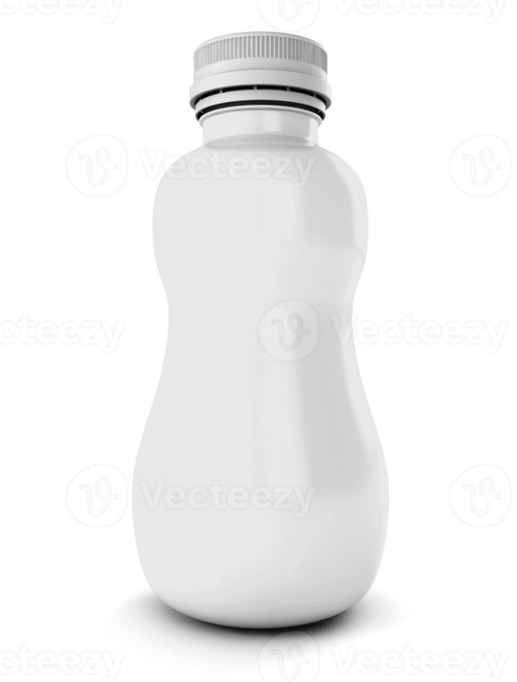 garrafa de plástico para bebida foto