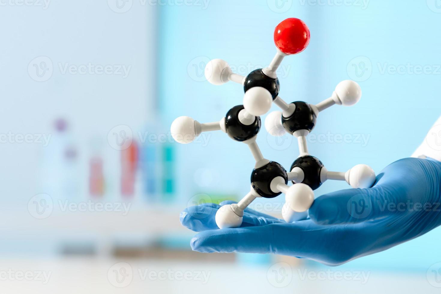 estrutura molecular foto