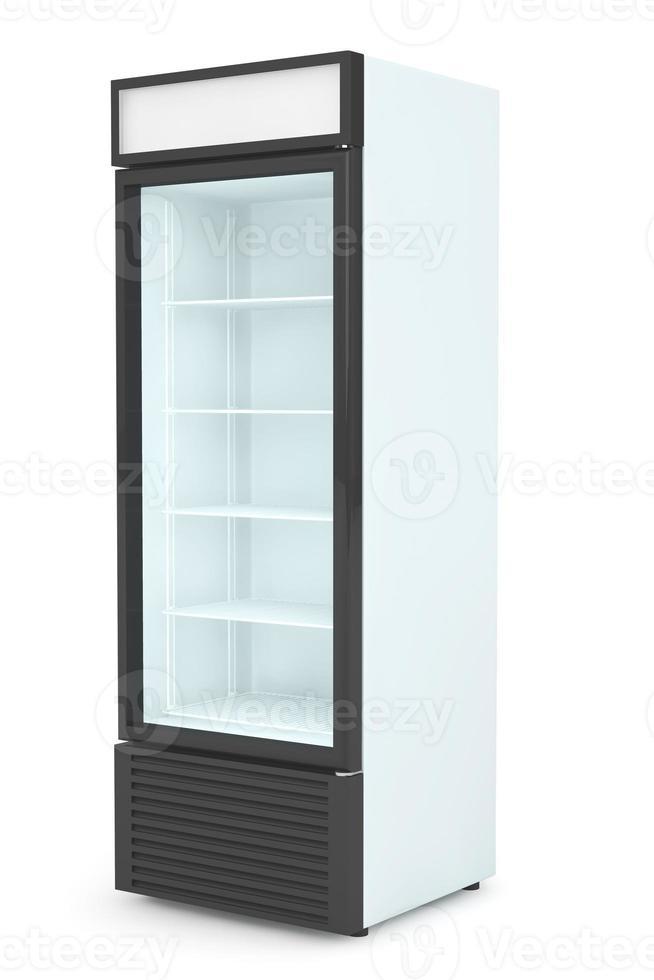 bebida de geladeira com porta de vidro foto
