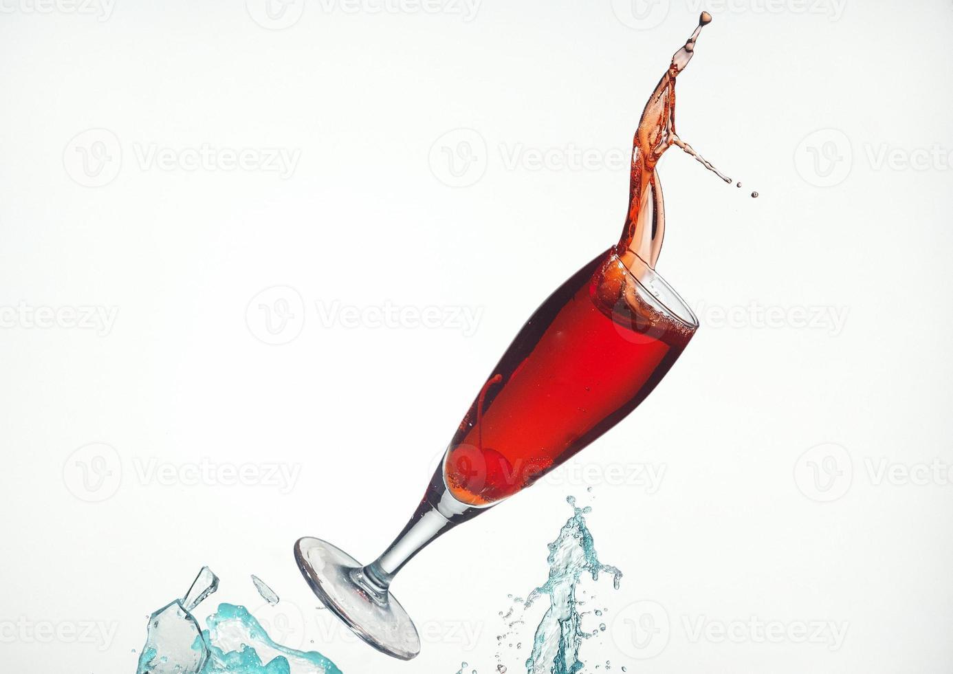 esmagar bebida cocktail foto