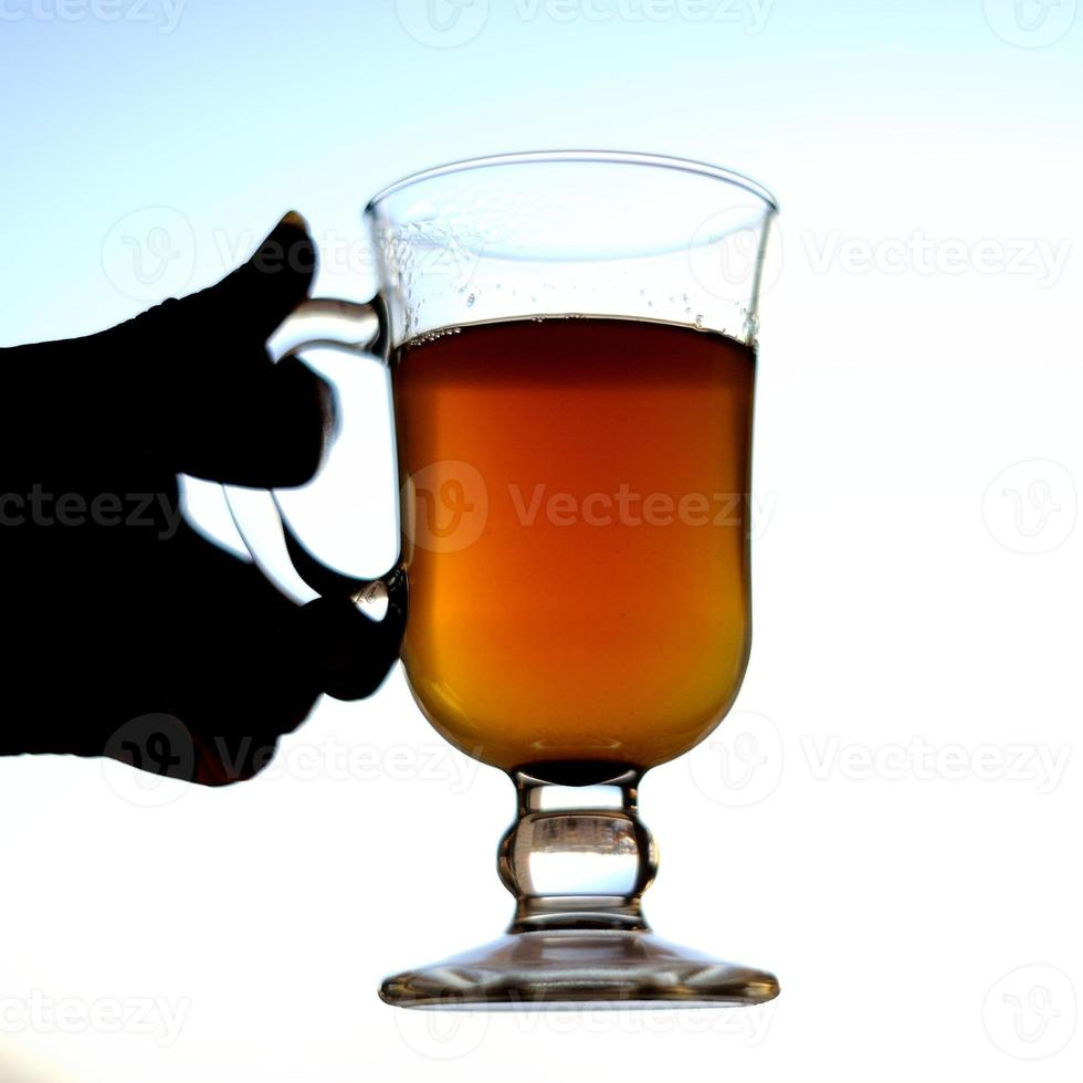 sbiten, bebida russa com mel foto