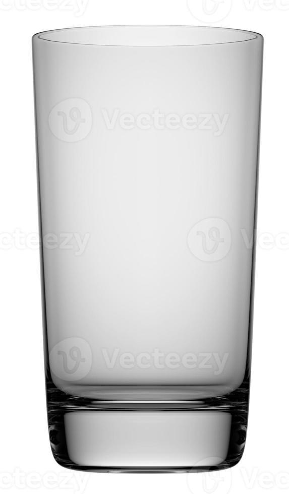 vidro transparente escuro vazio foto