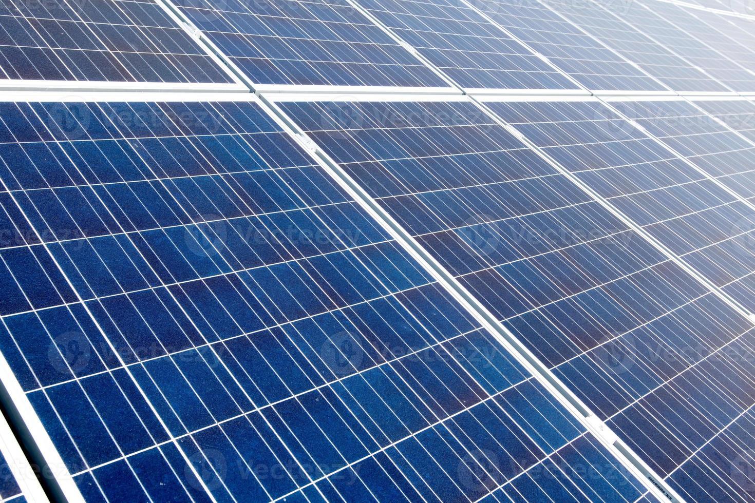 painéis solares foto