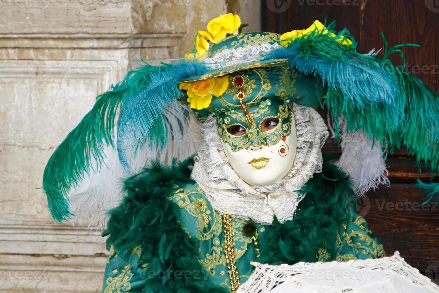 mascarar em veneza foto