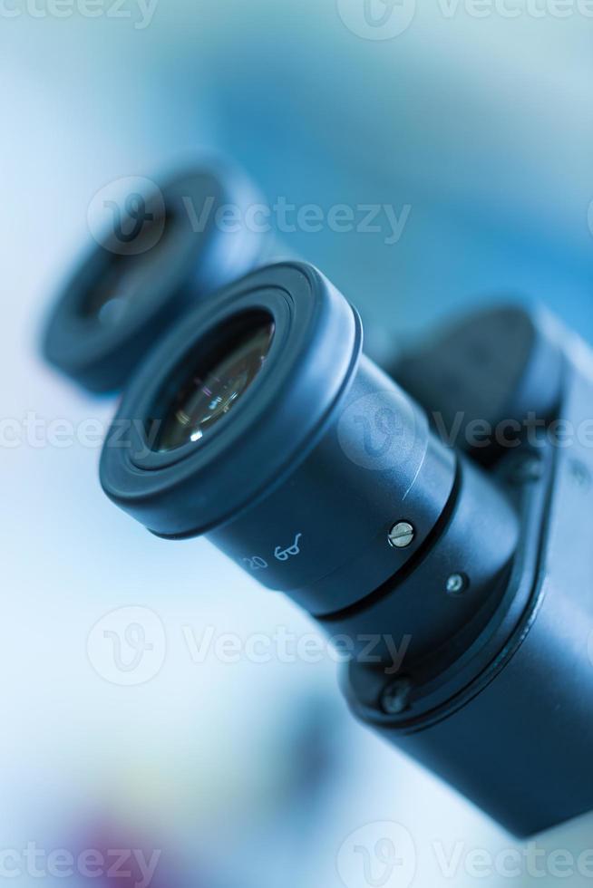 ocular para microscópio foto