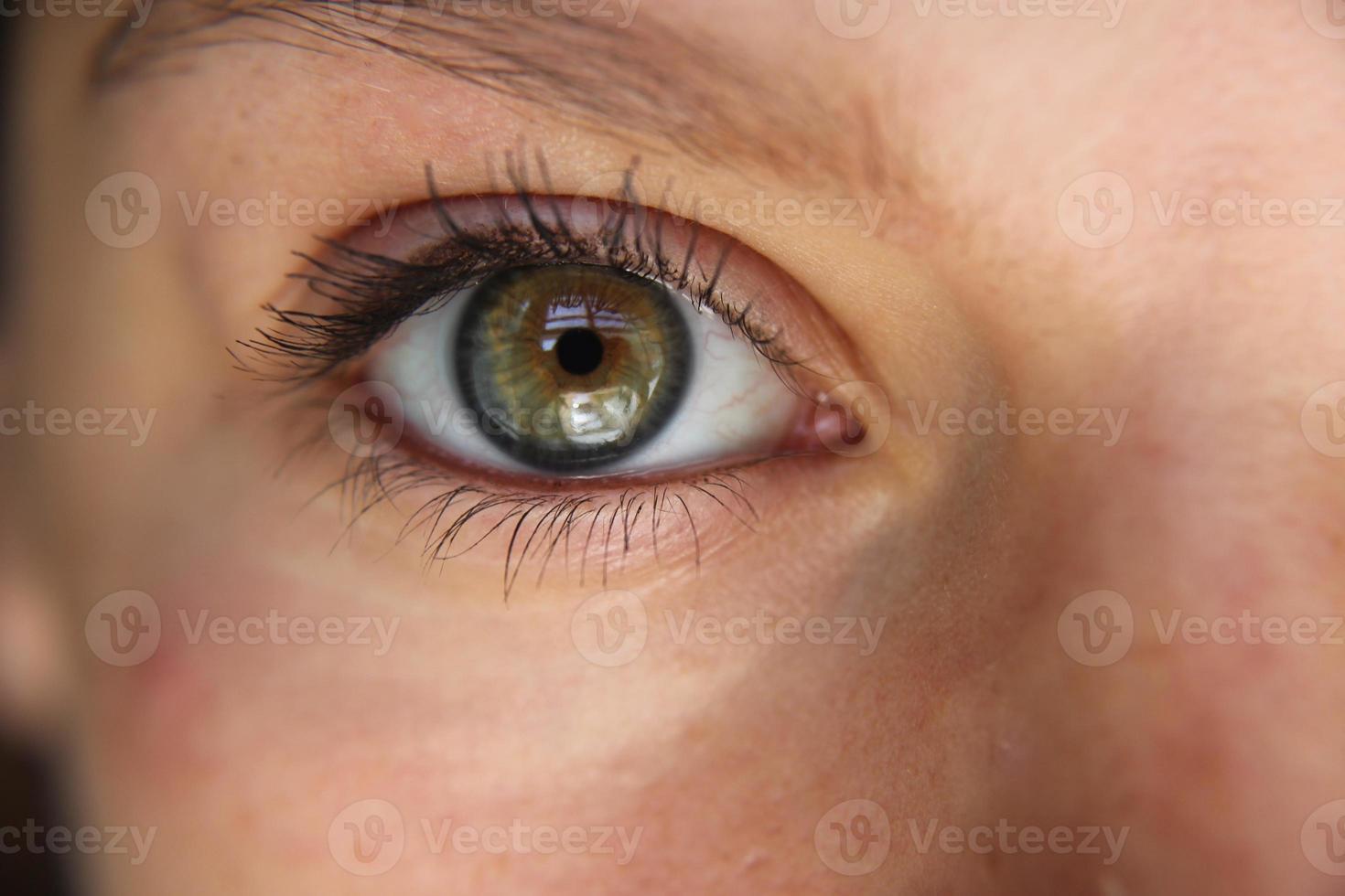 olho de perto foto