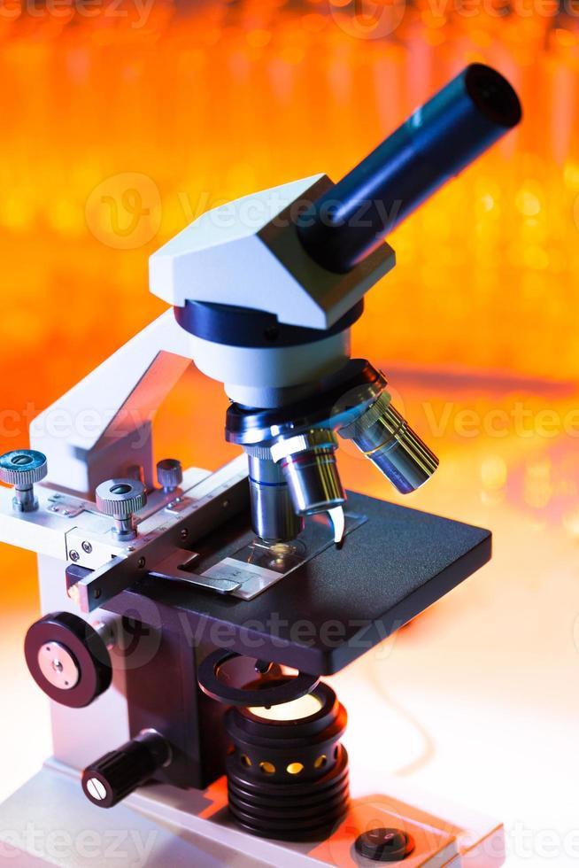 microscópio foto