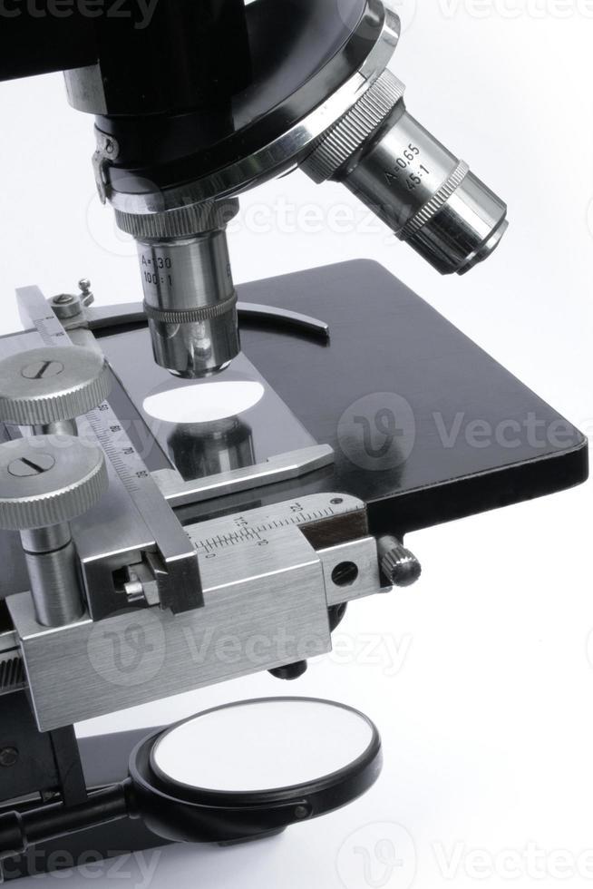 seção intermediária do microscópio foto