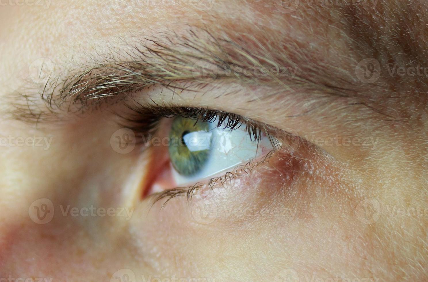oeil masculin foto