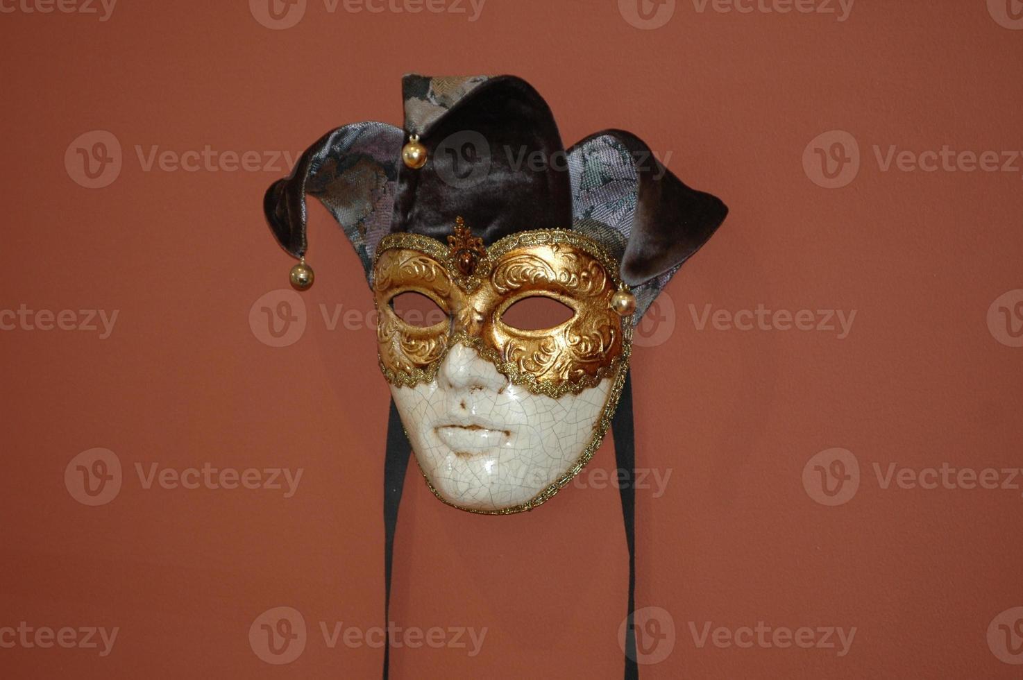 máscara de carnaval de Veneza, Itália foto