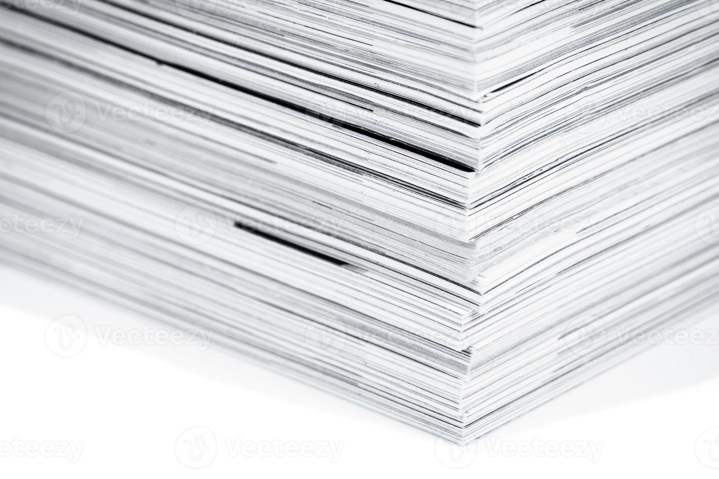 páginas de revistas de perto foto