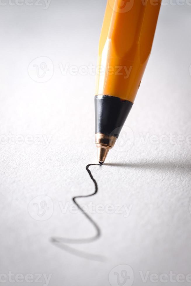 caneta esferográfica foto