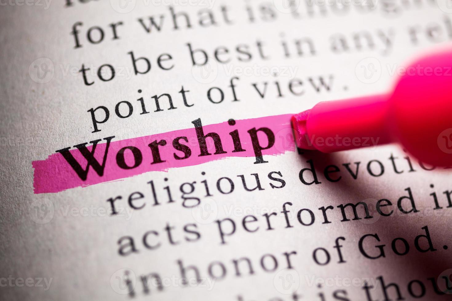 adoração foto