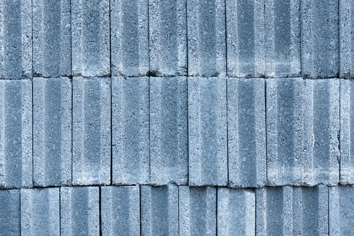 padrão de tijolos de concreto foto