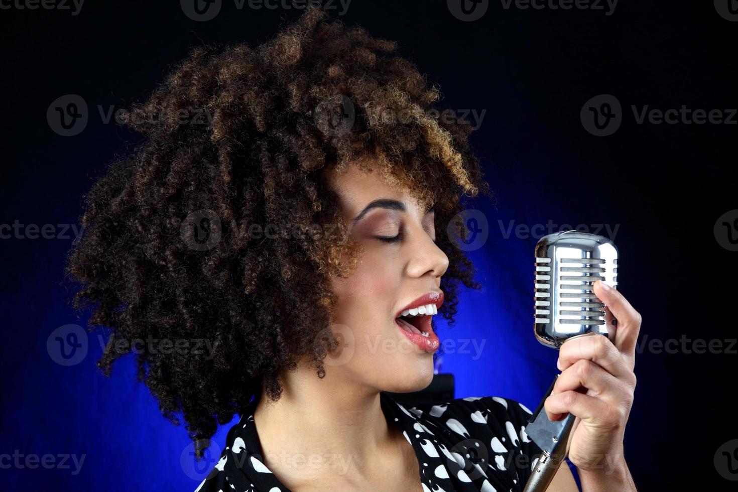 cantor de jazz foto