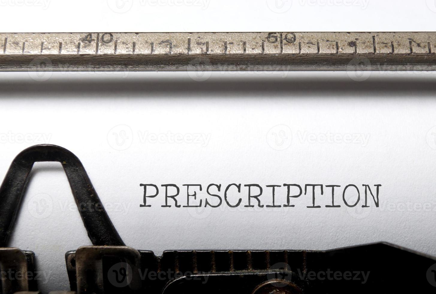 prescrição foto