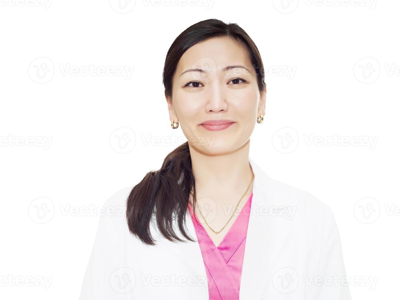 médico na clínica foto