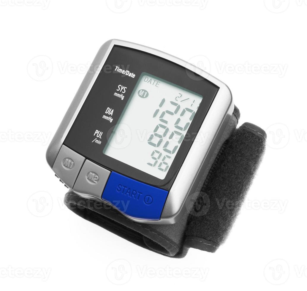 tonômetro digital de pressão arterial foto