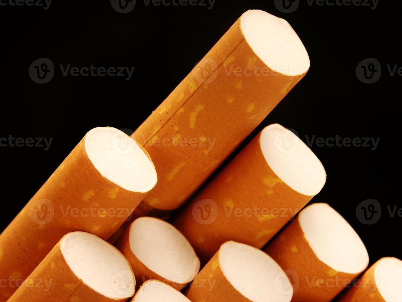 o cigarro. foto