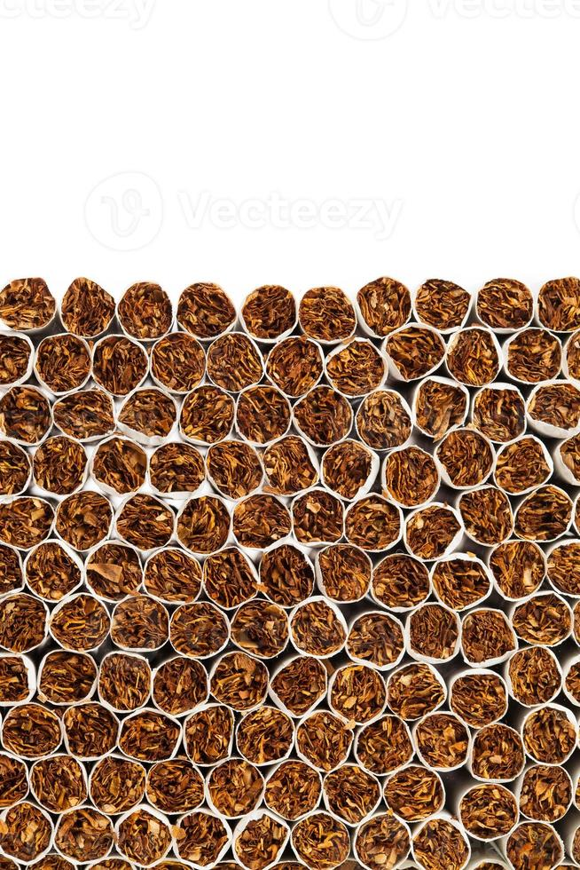 linha de produção de cigarros foto