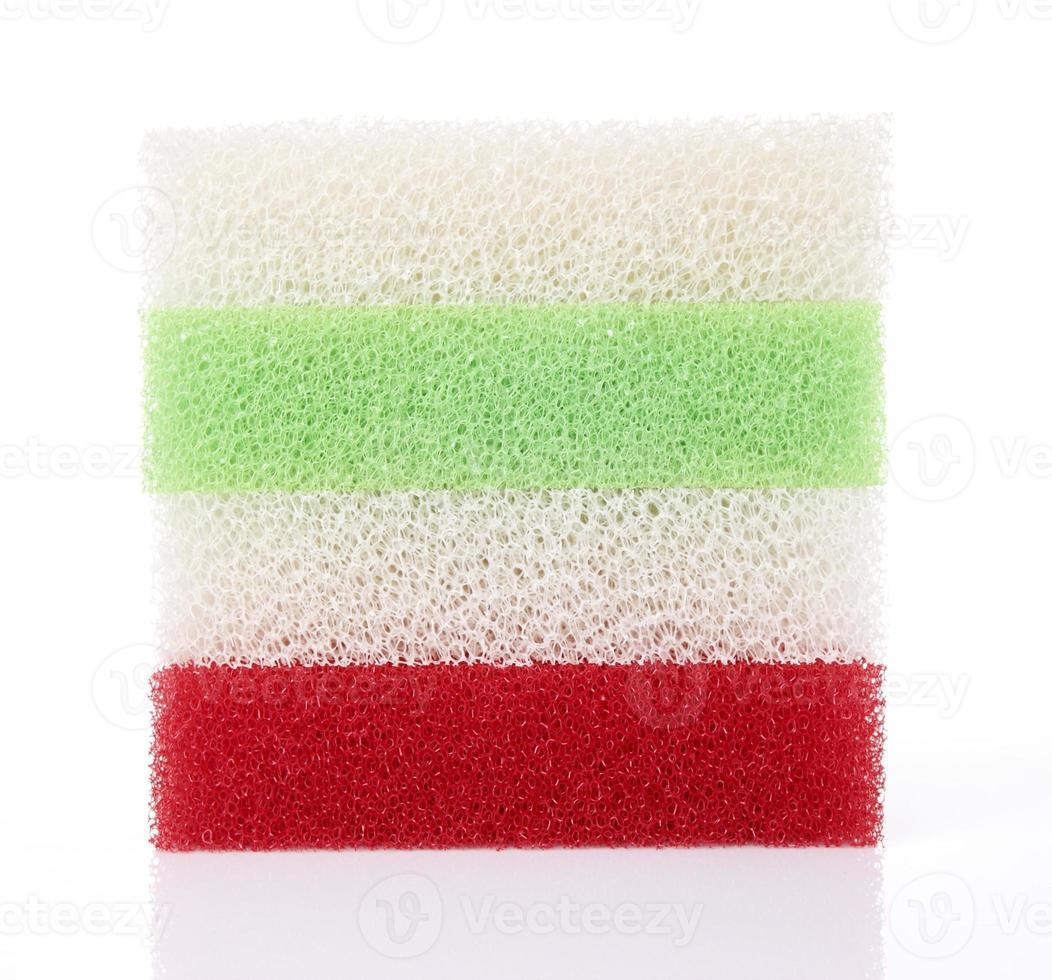 esponjas coloridas foto