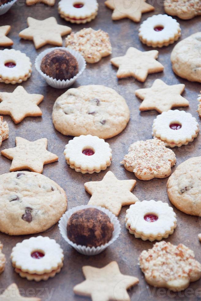 biscoitos e doces foto
