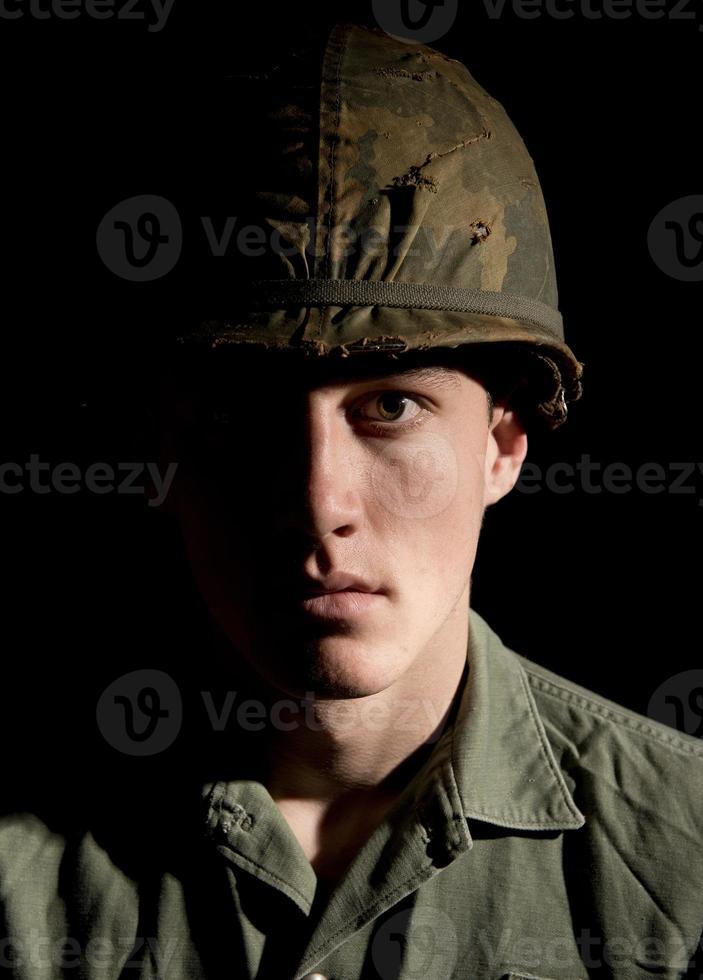 soldado americano - guerra do vietnã foto