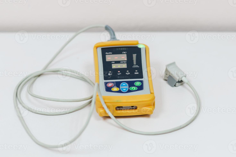 equipamentos médicos e oxigênio foto