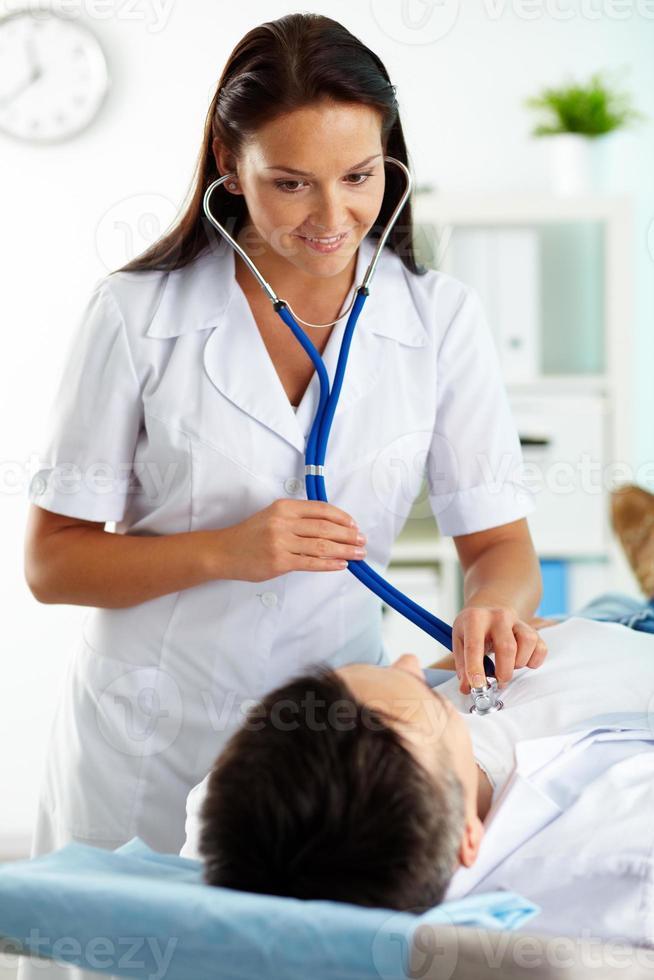 médico no trabalho foto