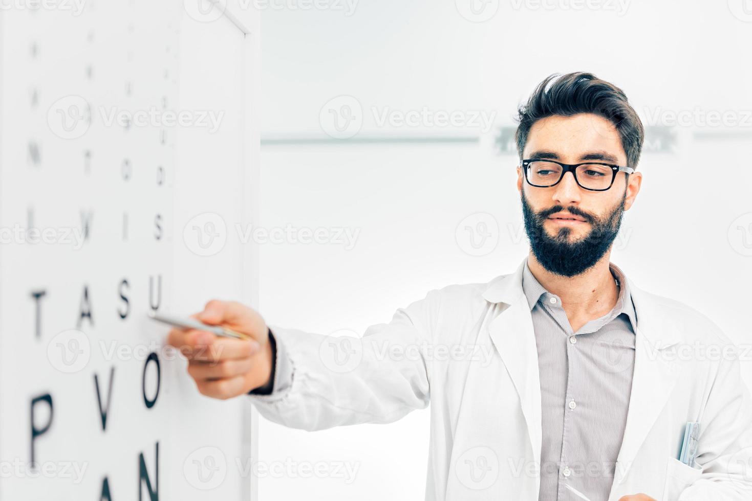 oculista médico foto