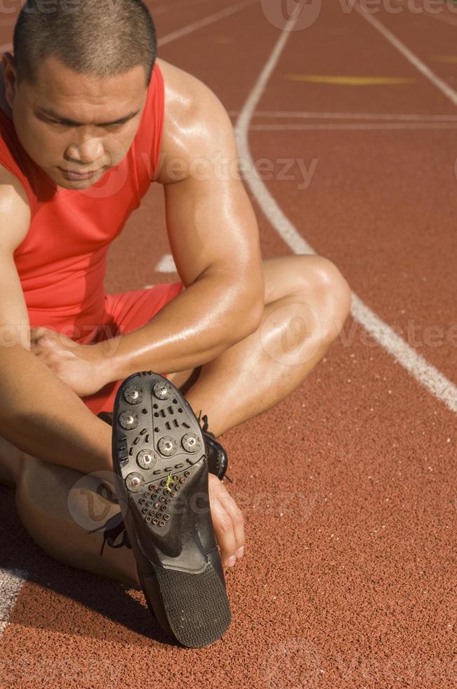 Atleta masculino foto
