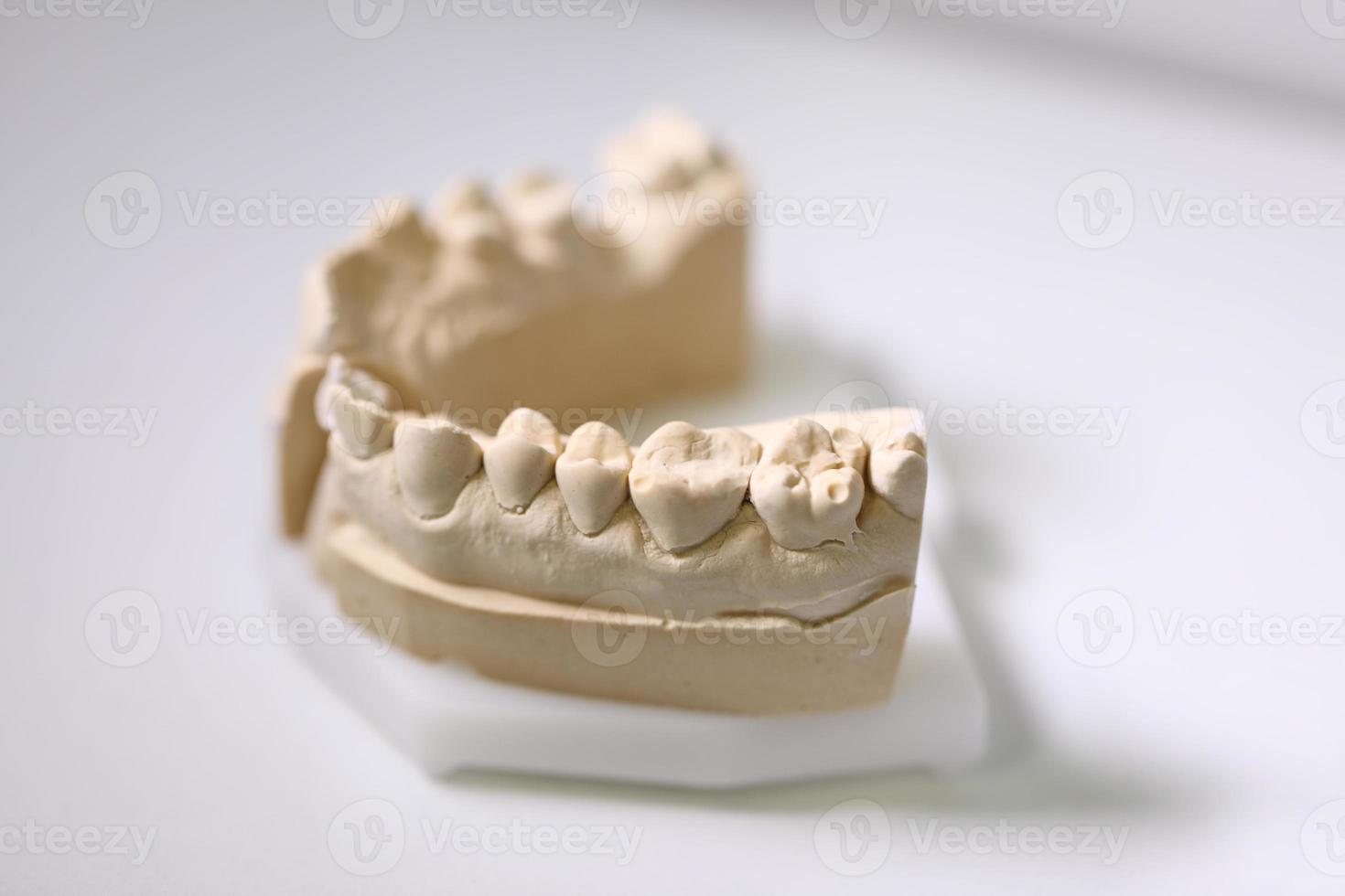 objetos de dentista foto