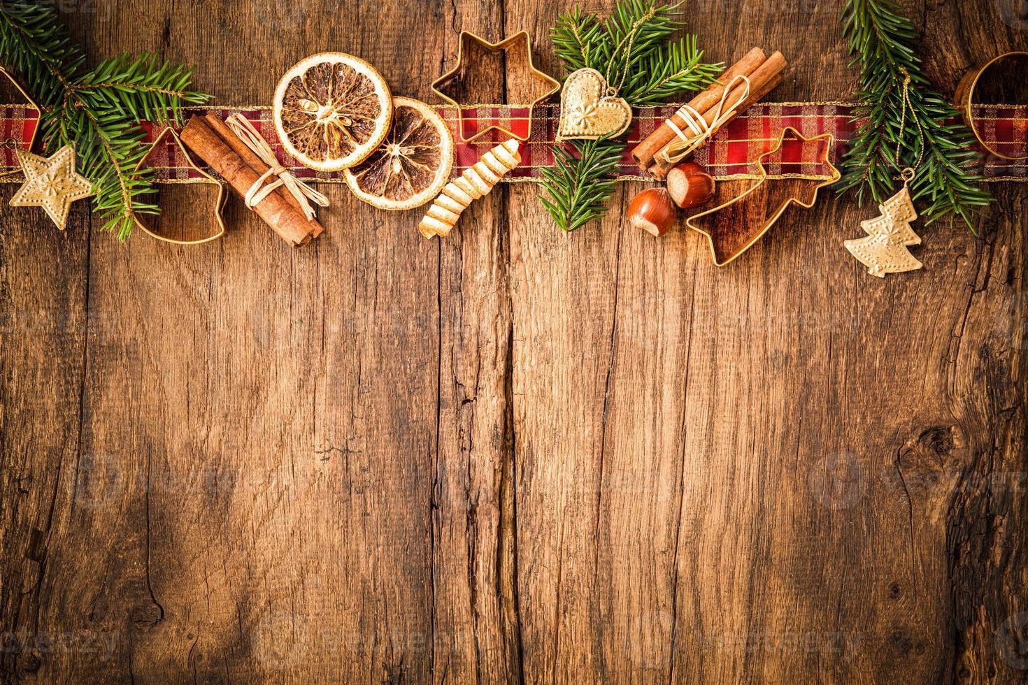 especiarias para bolos de natal foto