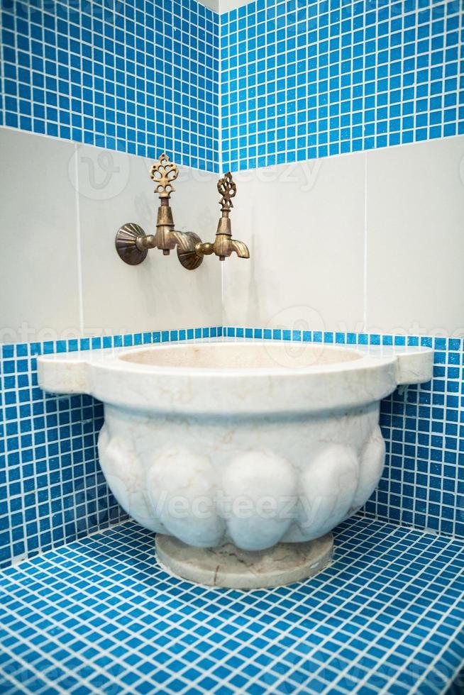 banho turco com telha cerâmica foto