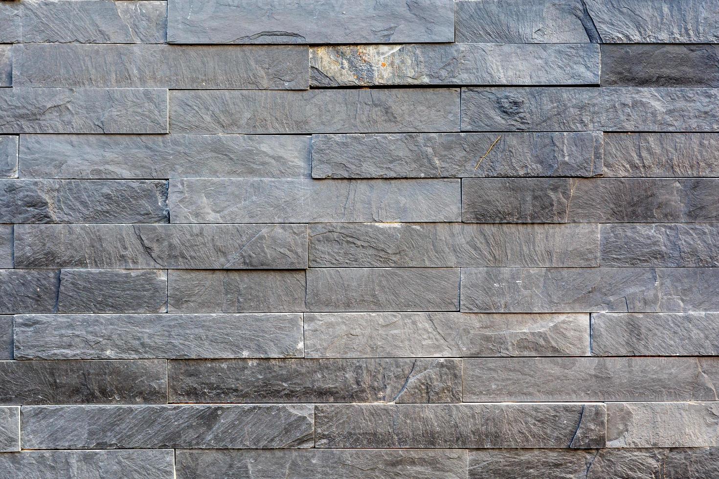 padrão da superfície da parede de pedra foto