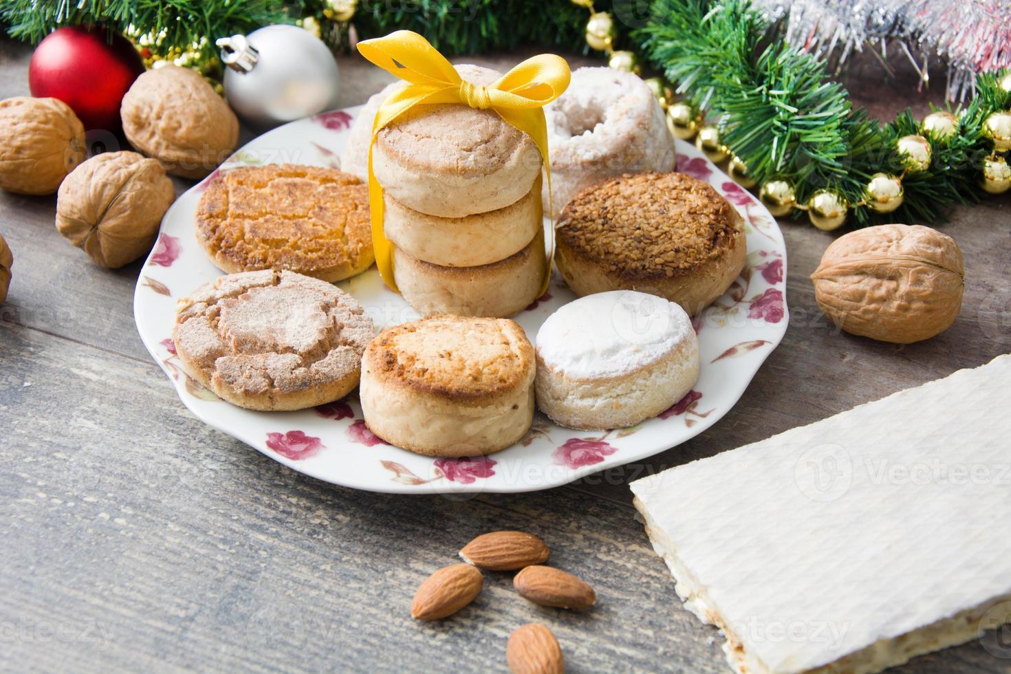 biscoito de natal foto