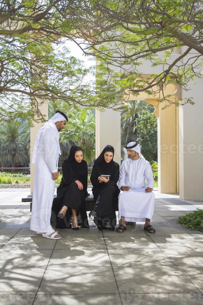 grupo de negócios emirati foto