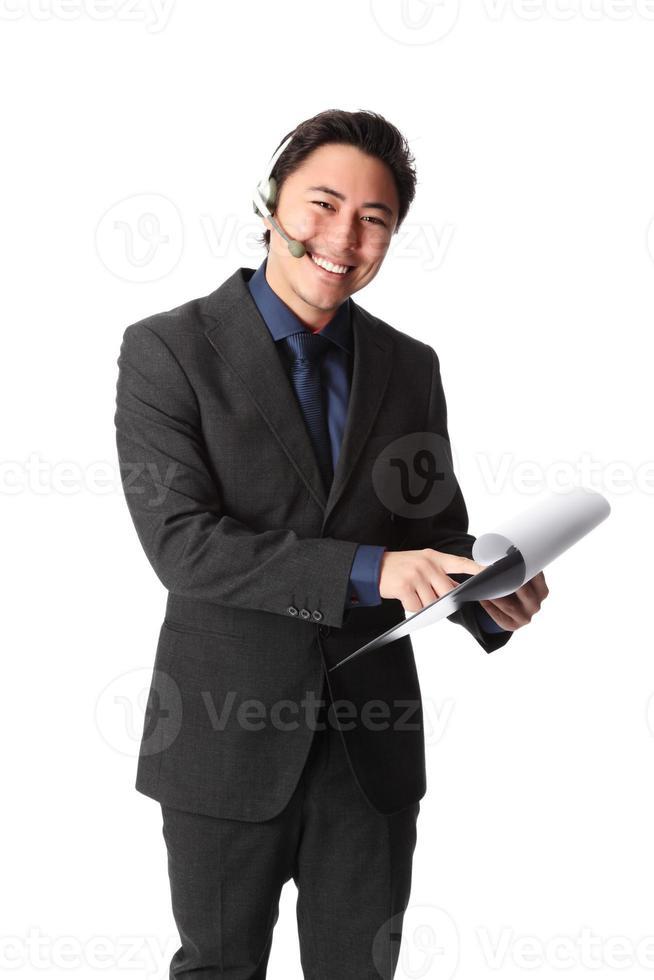 empresário atraente foto