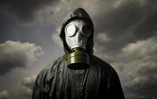 máscara de gás foto
