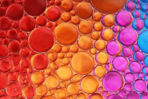 óleo e água sobre as cores 18