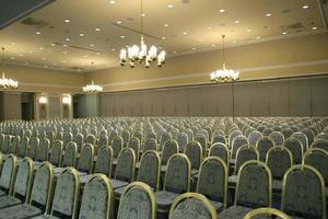 sala de conferências de luxo