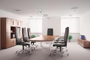 sala de conferências interior 3d