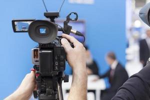 filmagens de eventos ao vivo foto