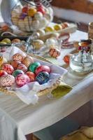 ovos pintados foto