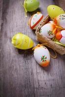 ovos de Páscoa. foto