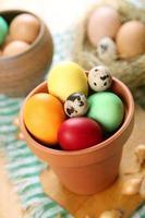 ovos para a páscoa foto