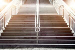 escada em estilo vintage foto