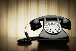 telefone vintage foto